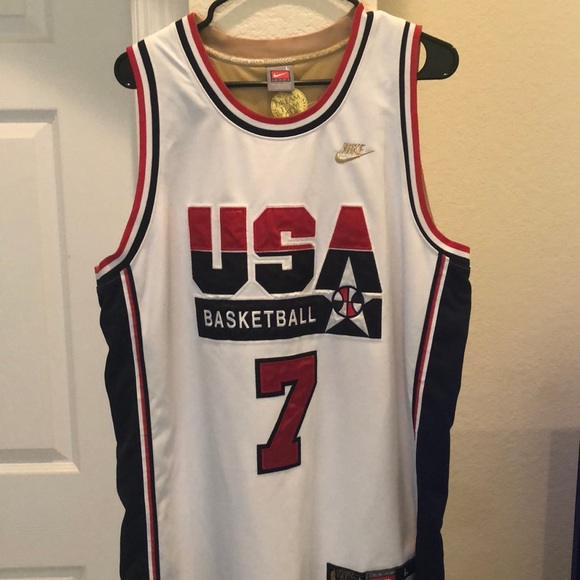 the best attitude b4233 076f2 Nike Dream Team Larry Bird Jersey